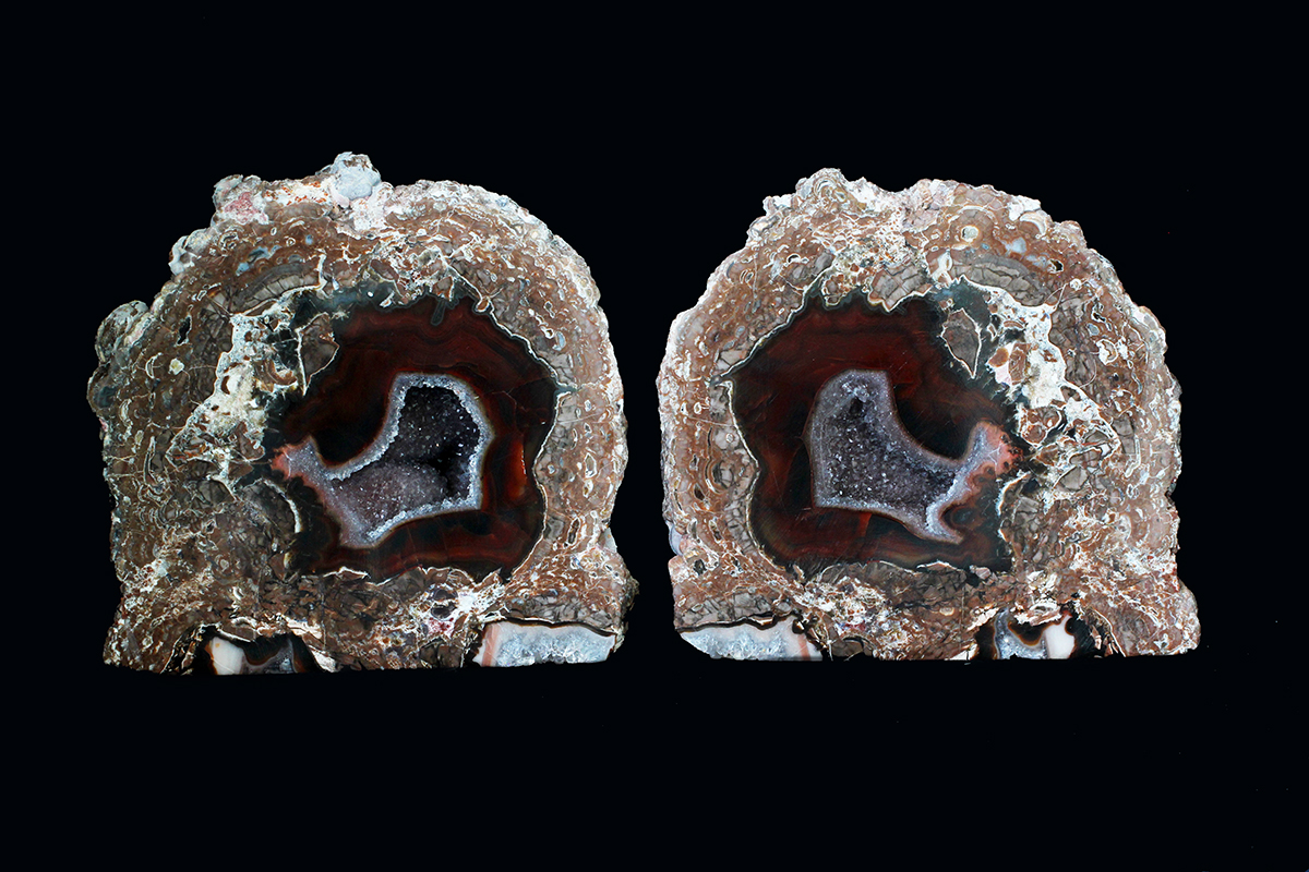 This is an example of a Baker Ranch Thunderegg from New Mexico