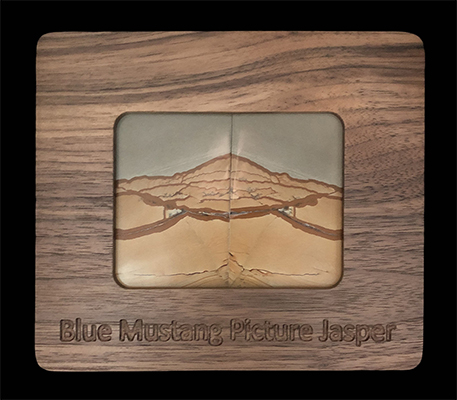 The merger of wood and rock.