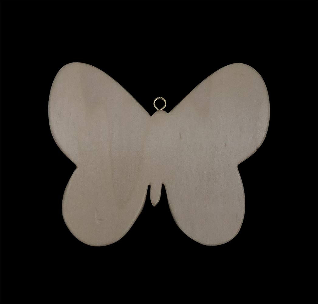 poplar butterfly with carrisite jasper wing insets