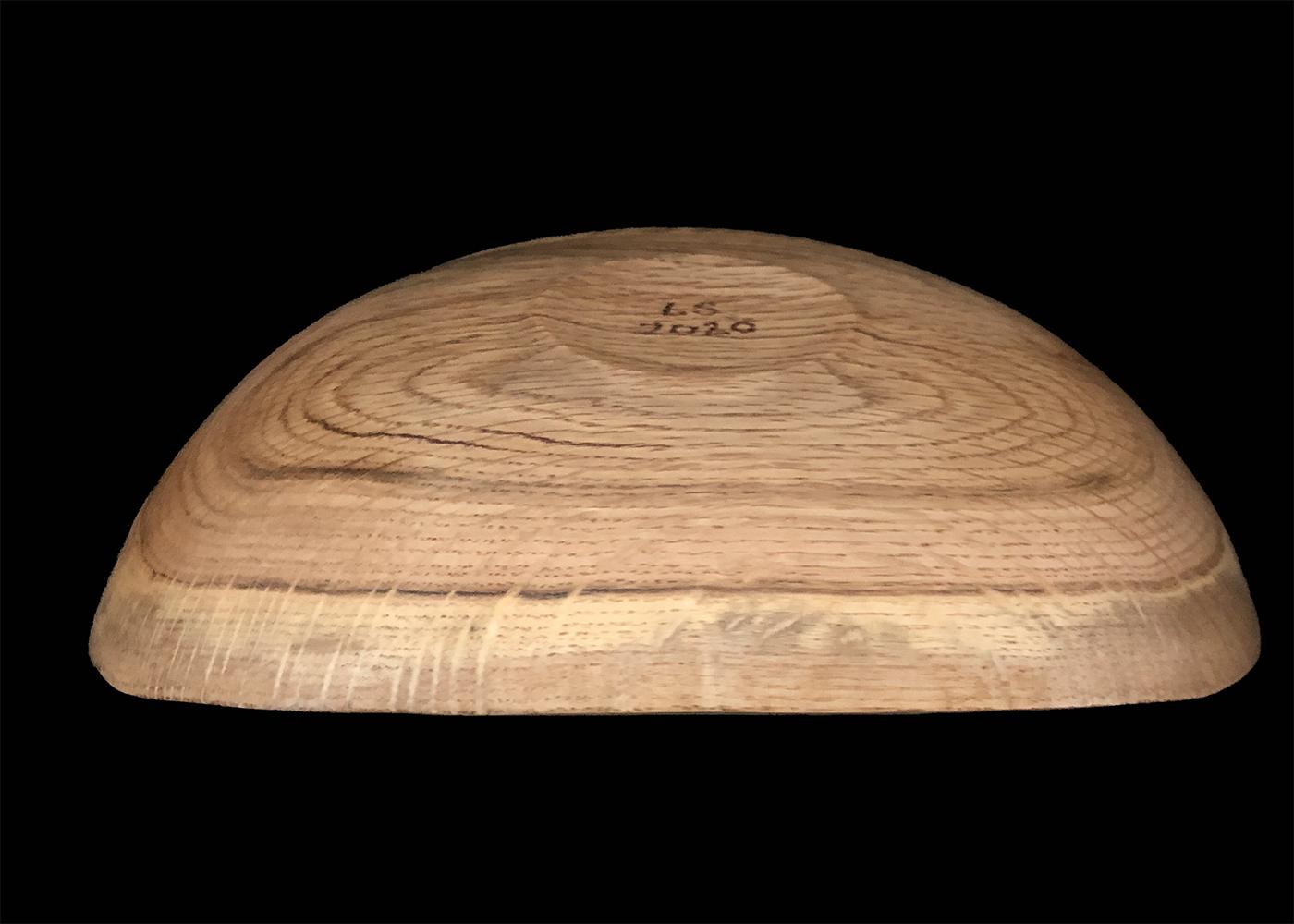 white oak platter